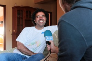 Javier Perdomo entrevistado en SOS Radio