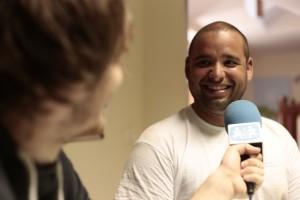 Davida en la entrevista para SOS Radio