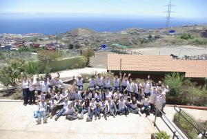 """Participantes del primer turno del """"Campo de Verano"""""""