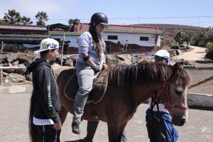 Jóvenes en el Taller de Medio Ambiente y Diversidad Funcional